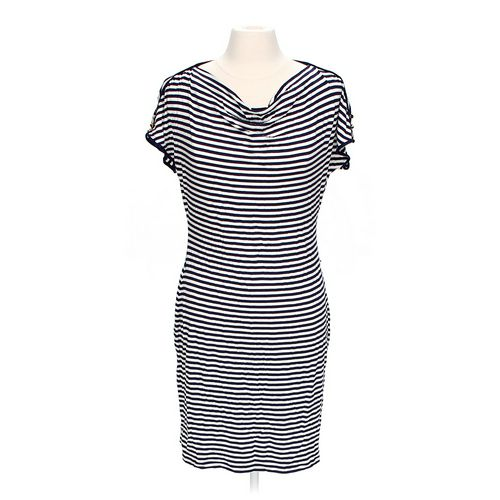 Calvin Klein Stylish Striped Dress in size M at up to 95% Off - Swap.com