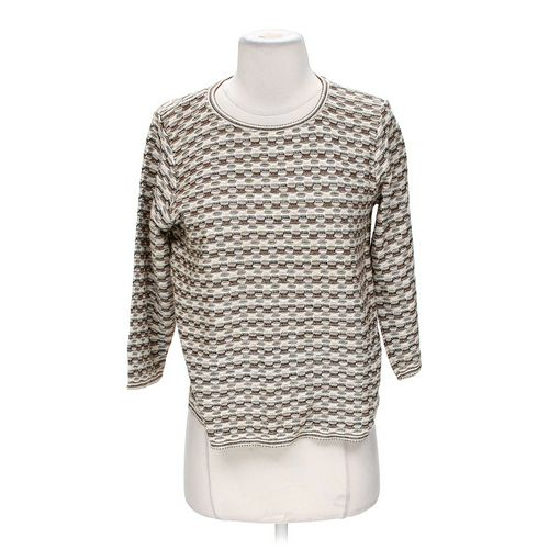 Alfred Dunner Stylish Sweater in size S at up to 95% Off - Swap.com