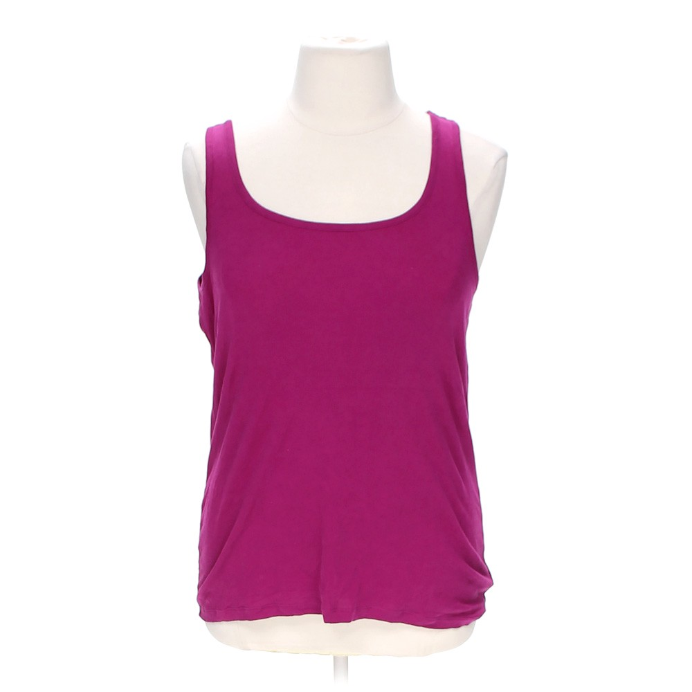 Pink Faded Glory Stylish Tank Top In Size Xxl At Up To 95