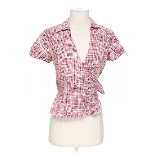 Ann Taylor Stylish Wrap Blouse in size 2 at up to 95% Off - Swap.com