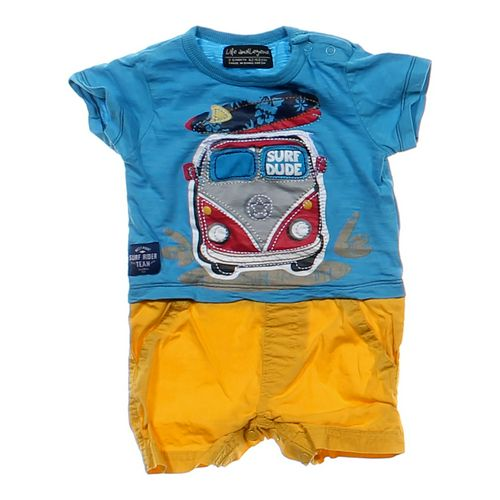 "Life and Legend ""Surf Dude"" Romper in size 3 mo at up to 95% Off - Swap.com"