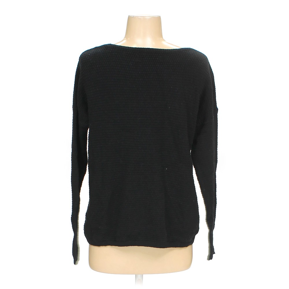 Ann Taylor Loft Abstract Sweater Size S Black