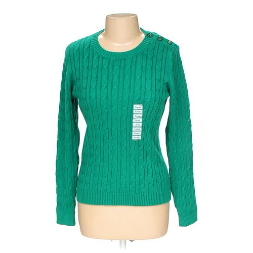 Charter Club Sweater in size L at up to 95% Off - Swap.com