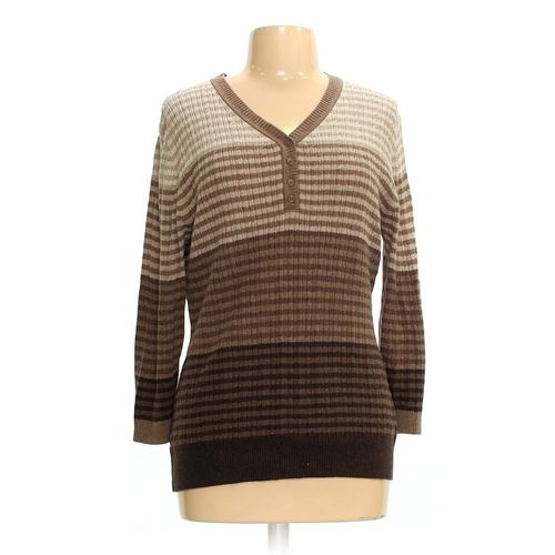Croft & Barrow Sweater in size L at up to 95% Off - Swap.com