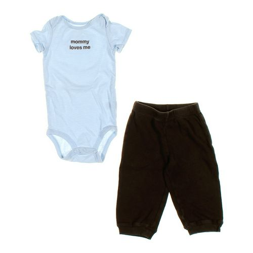 Carter's Sweatpants & Bodysuit Set in size 18 mo at up to 95% Off - Swap.com