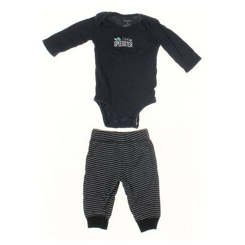 Carter's Sweatpants & Bodysuit Set in size 3 mo at up to 95% Off - Swap.com