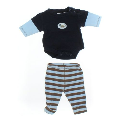 Carter's Sweatpants & Bodysuit Set in size 12 mo at up to 95% Off - Swap.com