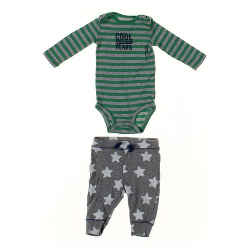 Cat & Jack Sweatpants & Bodysuit Set in size 6 mo at up to 95% Off - Swap.com