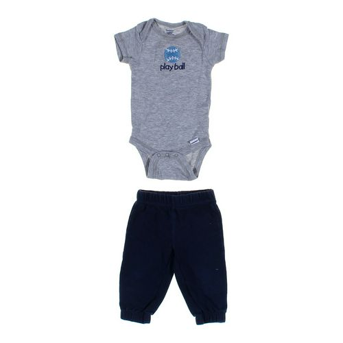 Gerber Sweatpants & Bodysuit Set in size 3 mo at up to 95% Off - Swap.com