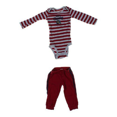Just One You Sweatpants & Bodysuit Set in size 12 mo at up to 95% Off - Swap.com