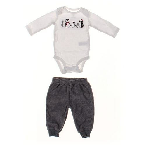 Just One You Sweatpants & Bodysuit Set in size 3 mo at up to 95% Off - Swap.com