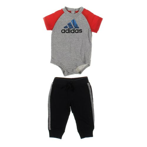 Just One You Sweatpants & Bodysuit Set in size 9 mo at up to 95% Off - Swap.com