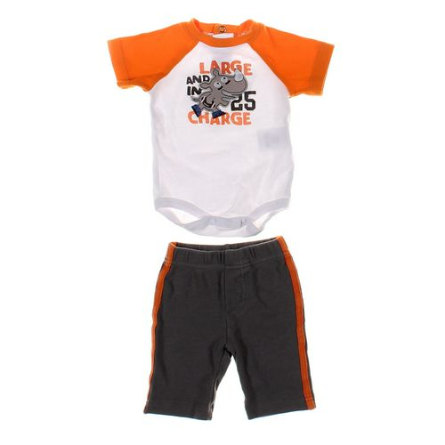 Little Wonders Sweatpants & Bodysuit Set in size 6 mo at up to 95% Off - Swap.com