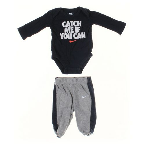 NIKE Sweatpants & Bodysuit Set in size 3 mo at up to 95% Off - Swap.com