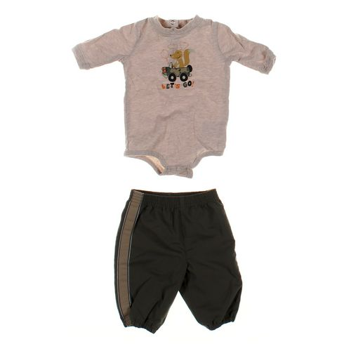 Okie Dokie Sweatpants & Bodysuit Set in size NB at up to 95% Off - Swap.com