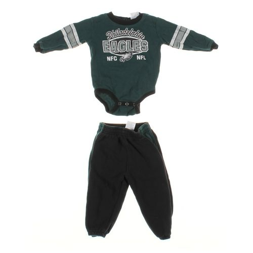 Team Apparel Sweatpants & Bodysuit Set in size 18 mo at up to 95% Off - Swap.com