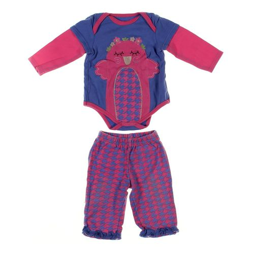 Buster Brown Sweatpants & Bodysuit Set in size 6 mo at up to 95% Off - Swap.com