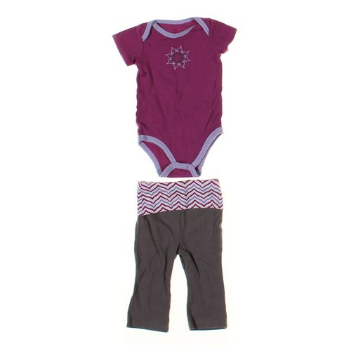 Yoga Sprout Sweatpants & Bodysuit Set in size 3 mo at up to 95% Off - Swap.com