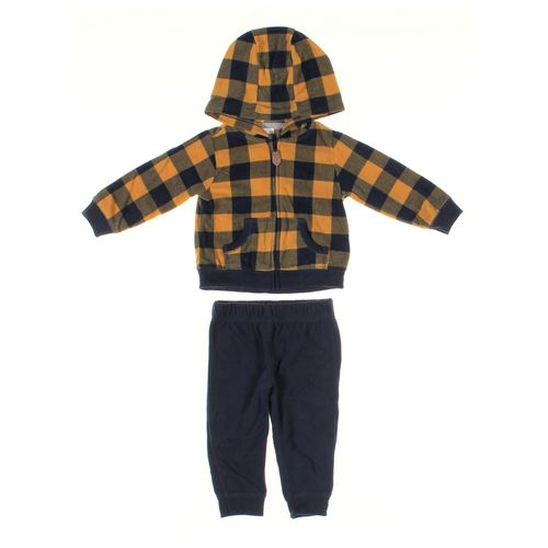 Carter's Sweatpants & Hoodie Set in size 12 mo at up to 95% Off - Swap.com