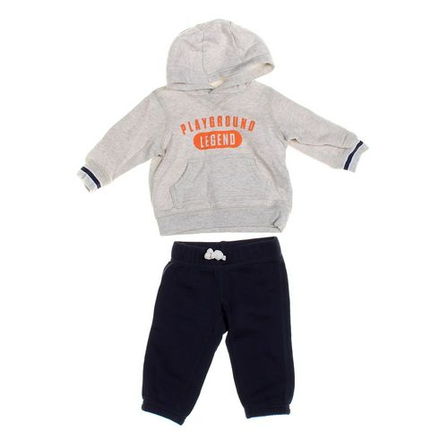 Carter's Sweatpants & Hoodie Set in size 6 mo at up to 95% Off - Swap.com