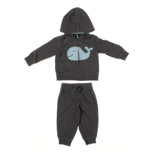 Carter's Sweatpants & Hoodie Set in size 9 mo at up to 95% Off - Swap.com