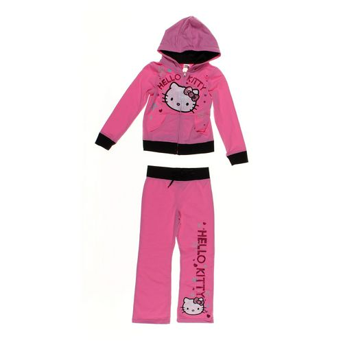 Hello Kitty Sweatpants & Hoodie Set in size 6X at up to 95% Off - Swap.com