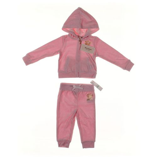 Juicy Couture Sweatpants & Hoodie Set in size 18 mo at up to 95% Off - Swap.com
