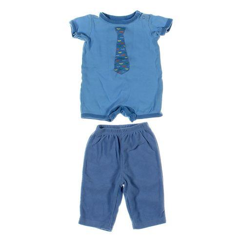 Carter's Sweatpants & Romper Set in size 6 mo at up to 95% Off - Swap.com