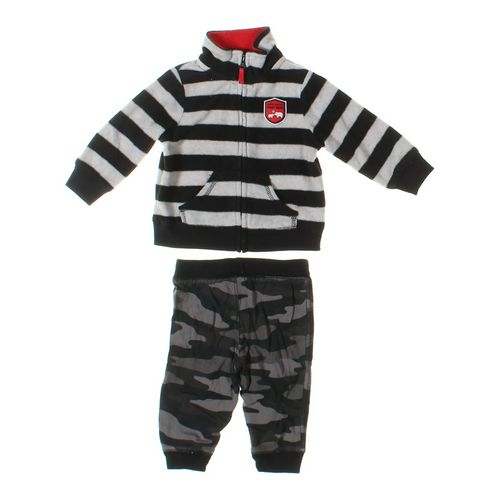 Jumping Beans Sweatpants & Sweatshirt Set in size 9 mo at up to 95% Off - Swap.com