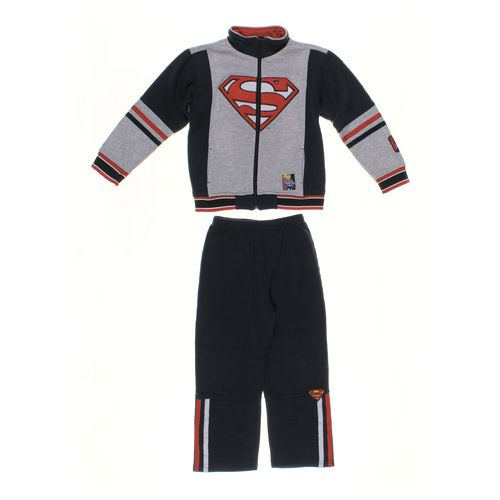 Superman Sweatpants & Sweatshirt Set in size 7 at up to 95% Off - Swap.com