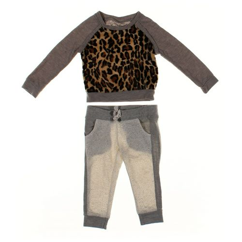 Jessica Simpson Sweatpants & Sweatshirt Set in size 2/2T at up to 95% Off - Swap.com