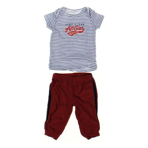 Just One You Sweatpants & T-shirt Set in size 3 mo at up to 95% Off - Swap.com
