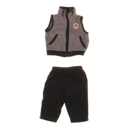 Carter's Sweatpants & Vest Set in size 6 mo at up to 95% Off - Swap.com