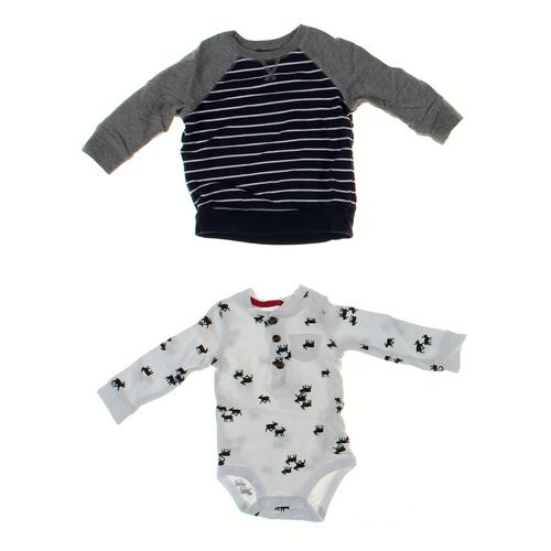 Jumping Beans Sweatshirt & Bodysuit Set in size 12 mo at up to 95% Off - Swap.com