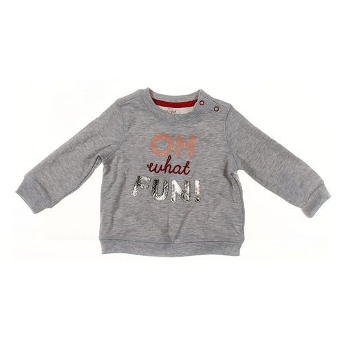 Cat & Jack Sweatshirt in size 6 mo at up to 95% Off - Swap.com