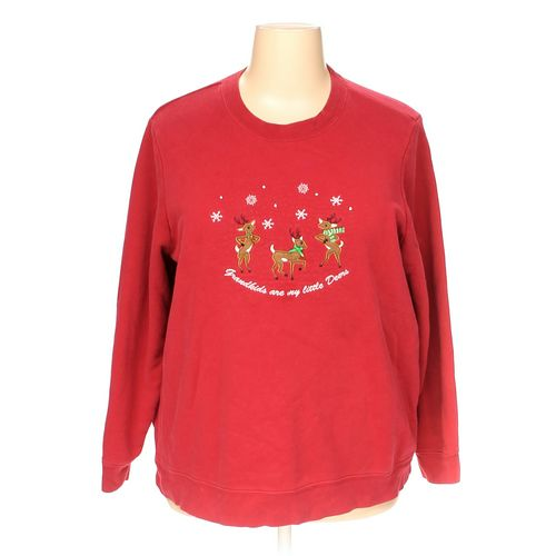 Holiday Editions Sweatshirt in size 2X at up to 95% Off - Swap.com