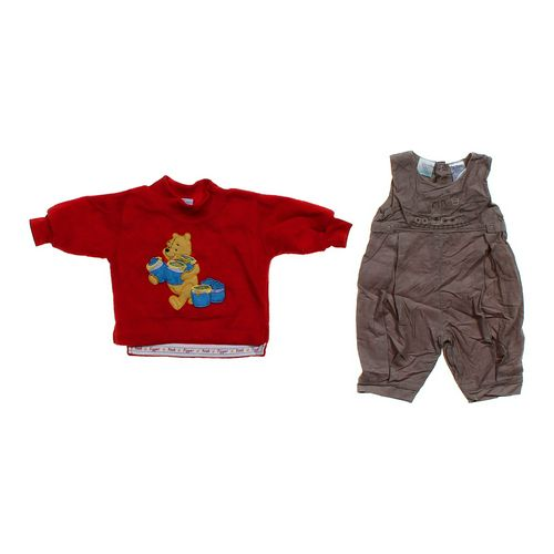 Pooh Sweatshirt & Overalls Set in size 3 mo at up to 95% Off - Swap.com