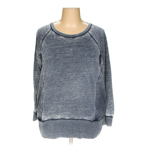 Seven7 Sweatshirt in size 2X at up to 95% Off - Swap.com