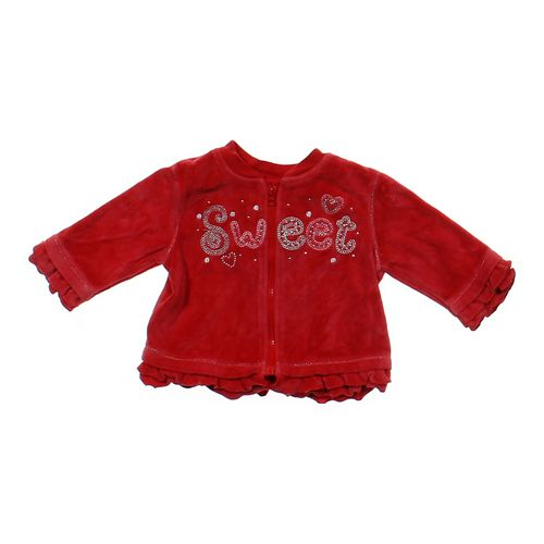 """Miniwear """"Sweet"""" Fleece Jacket in size 3 mo at up to 95% Off - Swap.com"""