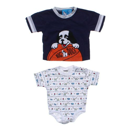 Little Big Dog T-Shirt & Bodysuit Set in size 6 mo at up to 95% Off - Swap.com
