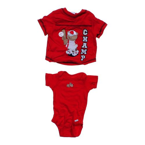 Miniwear T-Shirt & Bodysuit Set in size NB at up to 95% Off - Swap.com