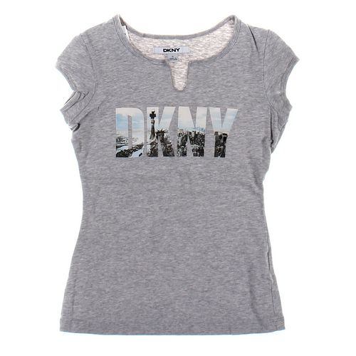 DKNY T-shirt in size S at up to 95% Off - Swap.com