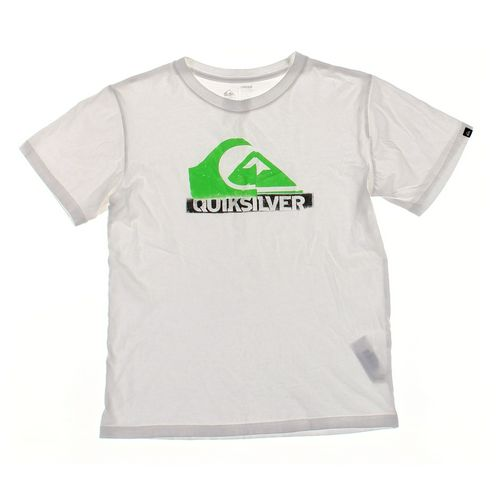Quiksilver T-shirt in size 14 at up to 95% Off - Swap.com