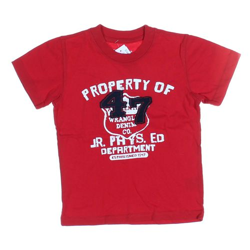 Wrangler T-shirt in size 4/4T at up to 95% Off - Swap.com