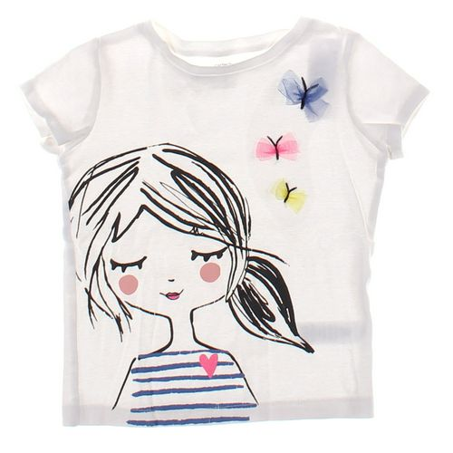 Carter's T-shirt in size 5/5T at up to 95% Off - Swap.com