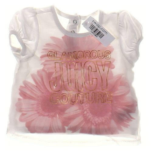 Juicy Couture T-shirt in size 24 mo at up to 95% Off - Swap.com