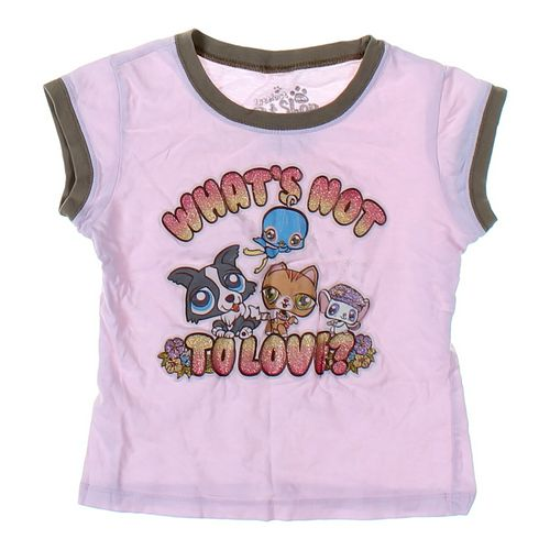Littlest Pet Shop T-shirt in size 4/4T at up to 95% Off - Swap.com