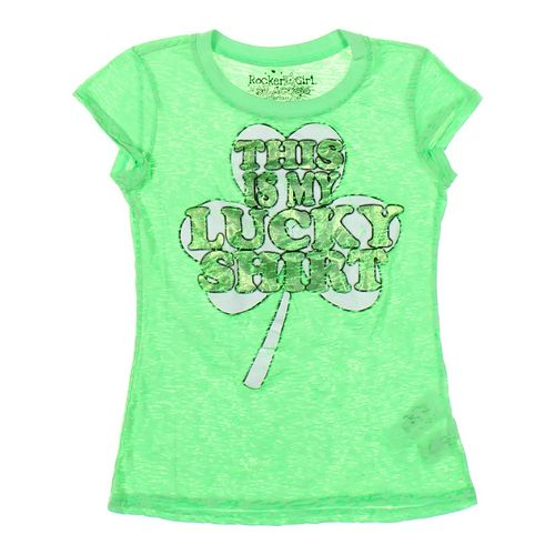 Rocker Girl T-shirt in size JR 3 at up to 95% Off - Swap.com