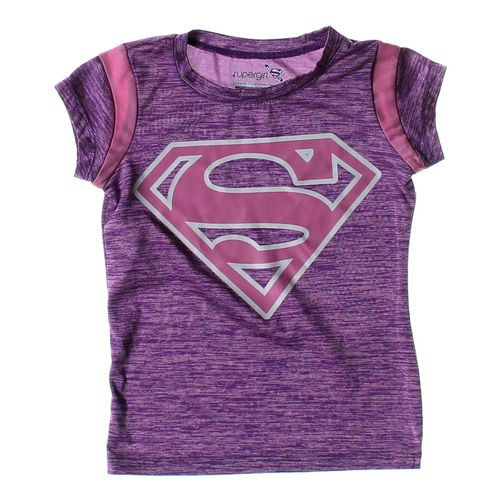 Supergirl T-shirt in size 4/4T at up to 95% Off - Swap.com