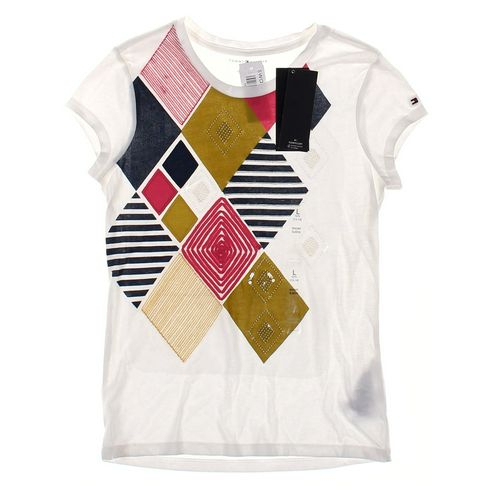 Tommy Hilfiger T-shirt in size 12 at up to 95% Off - Swap.com